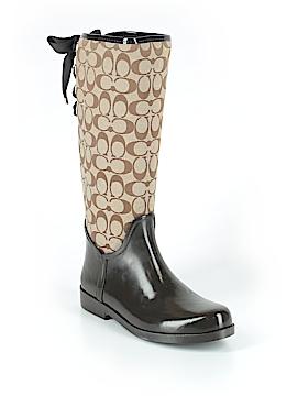 Coach Rain Boots Size 9