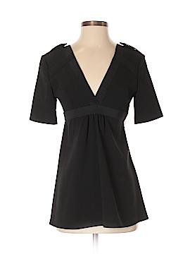 Burberry Short Sleeve Silk Top Size 4
