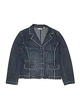 Platinum Denim Jacket Size 1X (Plus)