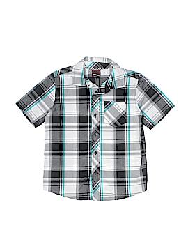 Hawk Short Sleeve Button-Down Shirt Size 5