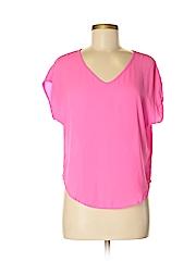 Lush Women Short Sleeve Blouse Size XS