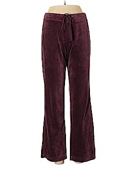 Eddie Bauer Velour Pants Size M