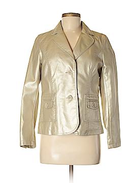 Relativity Faux Leather Jacket Size M (Petite)