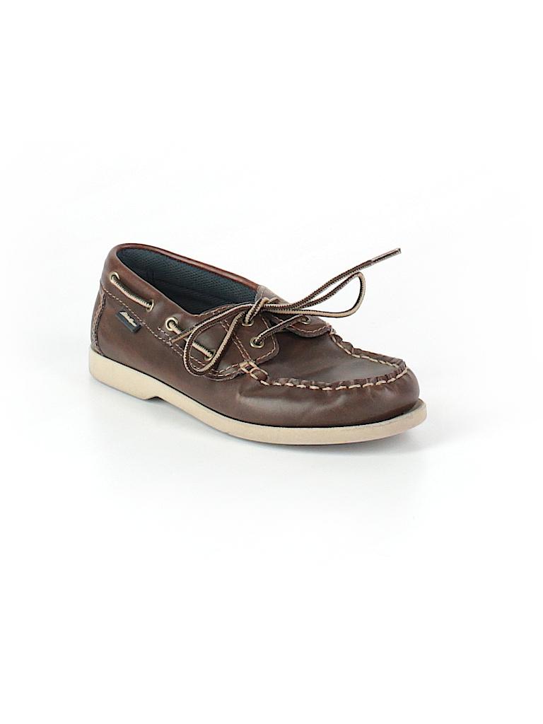 dff03a993 Eddie Bauer Solid Brown Dress Shoes Size 1 - 51% off | thredUP