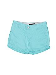 Aeropostale Women Khaki Shorts Size 00
