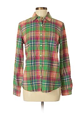 J. McLaughlin Long Sleeve Button-Down Shirt Size 6