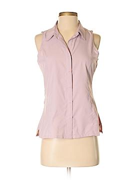 Royal Robbins Sleeveless Button-Down Shirt Size S