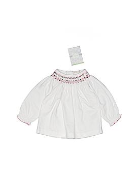 Kissy Kissy Long Sleeve Blouse Size 0-3 mo