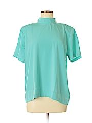 Susan Graver Women Short Sleeve Blouse Size M