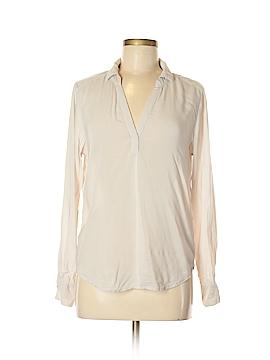 Velvet Long Sleeve Blouse Size XS
