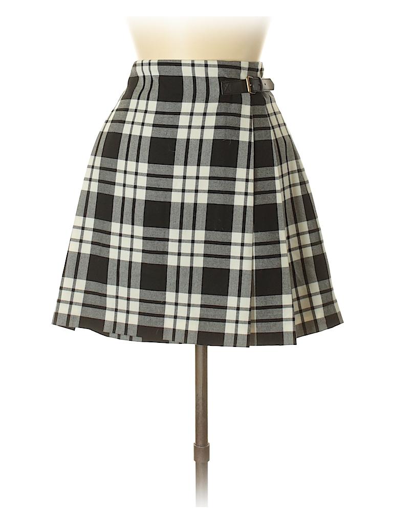 6bf102eb6 Uniqlo Plaid Black Casual Skirt Size 6 - 66% off   thredUP