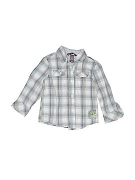 H&M Long Sleeve Button-Down Shirt Size 18-24 mo