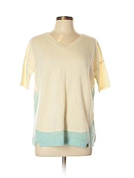 White + Warren Short Sleeve Top Size S