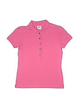 Lacoste Short Sleeve Polo Size 4