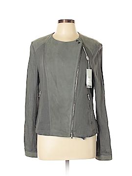 Armani Collezioni Leather Jacket Size 10