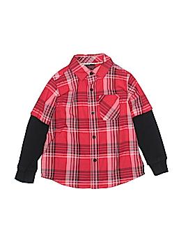 Hawk Long Sleeve Button-Down Shirt Size 4T