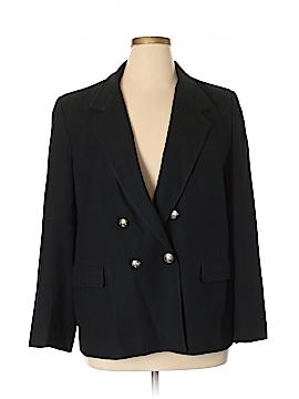 Evan Picone Wool Blazer Size 18 (Plus)