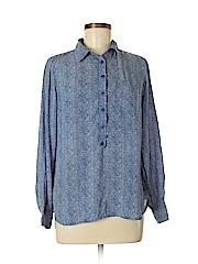 Dalia Collection Women Long Sleeve Blouse Size M