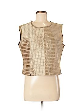 Karol Richardson Sleeveless Silk Top Size M