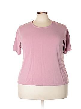 Kathie Lee Short Sleeve Top Size 26/28W