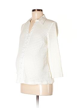 Mimi Maternity 3/4 Sleeve Blouse Size M (Maternity)