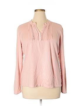 Eddie Bauer Silk Pullover Sweater Size 2X (Plus)