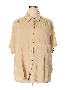Joanna Short Sleeve Button-Down Shirt Size 22 - 24 (Plus)