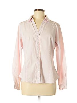 Harve Benard Long Sleeve Button-Down Shirt Size L