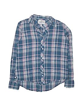 Girl Krazy Long Sleeve Button-Down Shirt Size M (Kids)