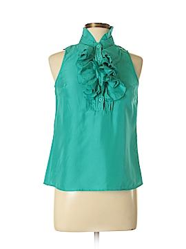 Willi Smith Sleeveless Silk Top Size S