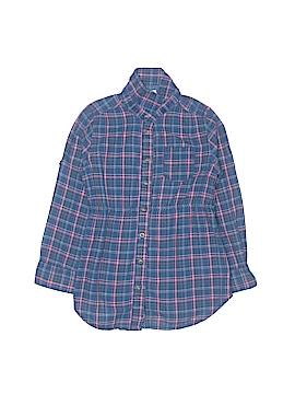 H&M L.O.G.G. Long Sleeve Button-Down Shirt Size 4T
