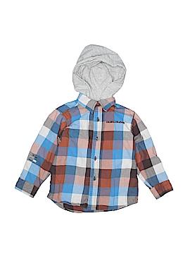 CALVIN KLEIN JEANS Long Sleeve Button-Down Shirt Size 3T