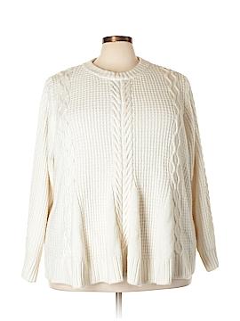 Denim 24/7 Pullover Sweater Size 2X (Plus)