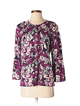Laura Ashley Silk Cardigan Size M