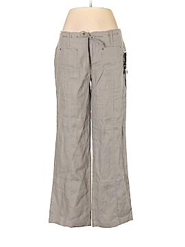 INC International Concepts Linen Pants Size 6 (Petite)
