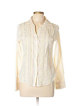 Claudia Richard Long Sleeve Button-Down Shirt Size M