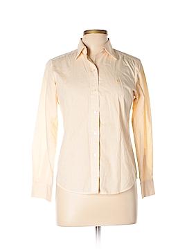 Polo Long Sleeve Button-Down Shirt Size M