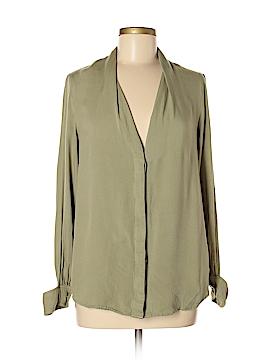 StyleStalker Long Sleeve Button-Down Shirt Size M