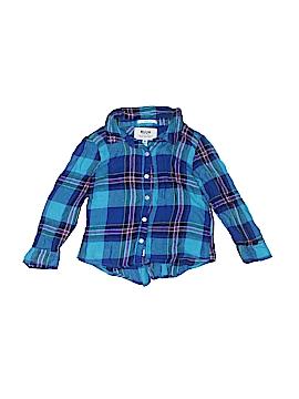 Ruum Long Sleeve Button-Down Shirt Size 4