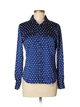 Pendleton Long Sleeve Blouse Size 6 (Petite)