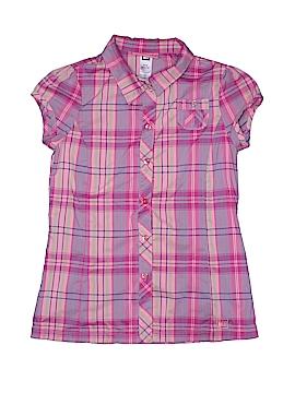 REI Short Sleeve Button-Down Shirt Size 10 - 12