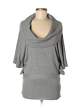 White House Black Market Silk Pullover Sweater Size M