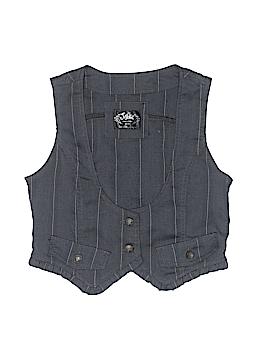 Justice Tuxedo Vest Size 12