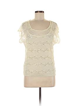 Eyelash Couture Short Sleeve Top Size M