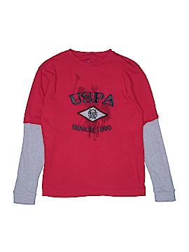 U.S. Polo Assn. Long Sleeve T-Shirt Size 18