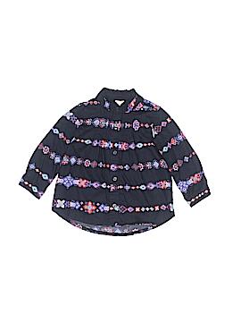 OshKosh B'gosh Long Sleeve Blouse Size 9 mo