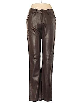 Ralph Lauren Collection Leather Pants Size 4