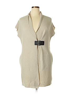 Adrienne Vittadini Wool Cardigan Size L