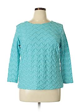 Rafael Long Sleeve Blouse Size 1X (Plus)
