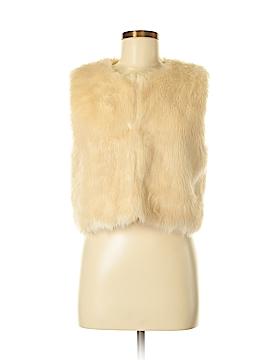 Sans Souci Faux Fur Vest Size M